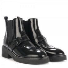 Norton Polished Leather Ankle Boots