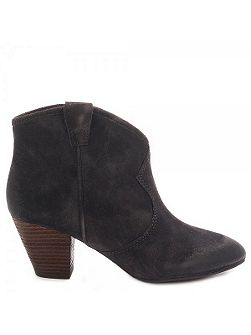 Jalouse Classic Suede Ankle Boots