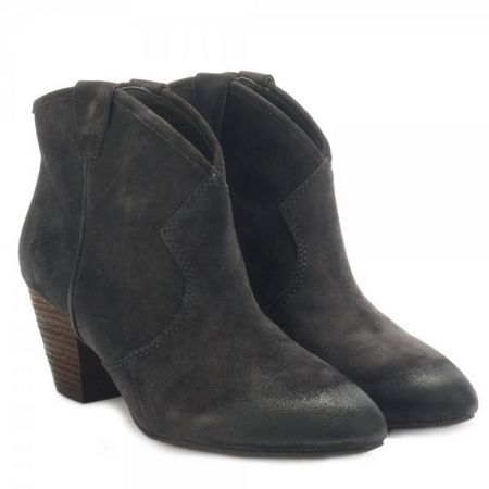 Ash Jalouse Classic Suede Ankle Boots