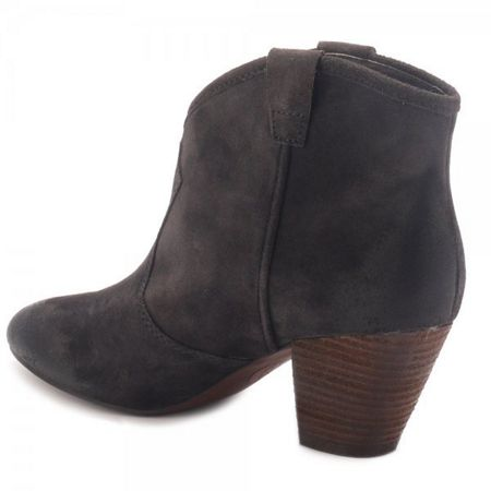 Brown Suede Ankle Boots - Cr Boot