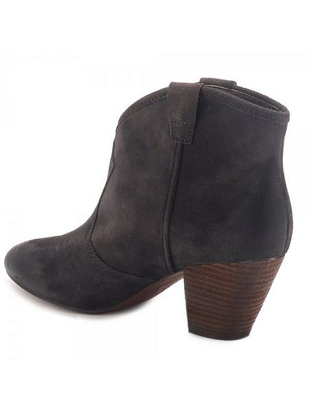 Ash Jalouse Classic Suede Ankle Boots Brown - House of Fraser