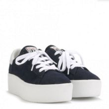 CULT leather platform trainers