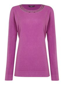TIGI Long Sleeved Soft Touch Top