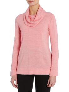 TIGI Soft Feel Cowl Neck Jumper