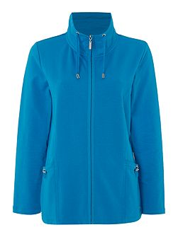 Zip Front Leisure Jacket
