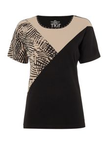 TIGI Dolman Cap Sleeve Top