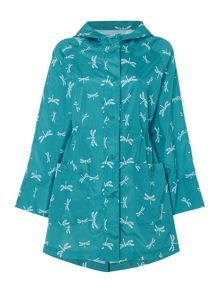 TIGI Pack in a Bag Print Raincoat