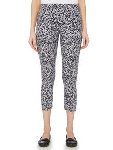 TIGI Crop Print Trousers