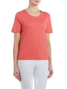 TIGI Short Sleeve Round Neck Top