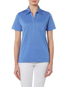 TIGI Short Sleeve Polo Top