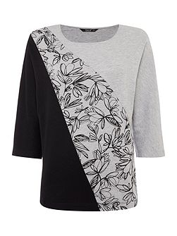 Placement Print Top