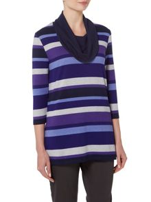 TIGI Cowl Neck Tunic