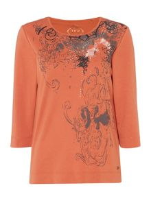 TIGI Placement Print Top