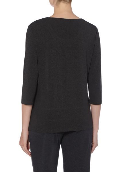 TIGI Three Quarter Sleeved Round Neck Top
