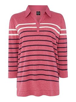 Engineered Polo Stripe Shirt