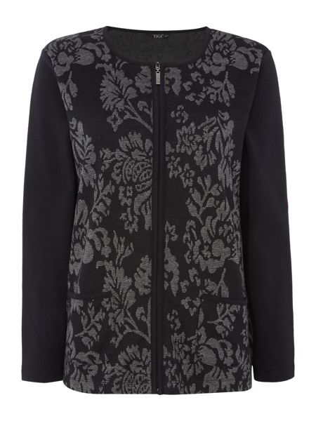 TIGI Baroque Print Jacket