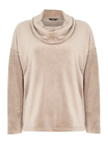 TIGI Cowl Neck Jumper