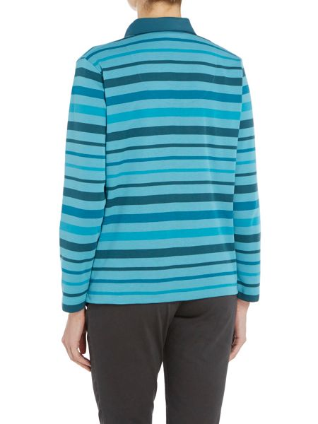 TIGI Stripe Polo Shirt