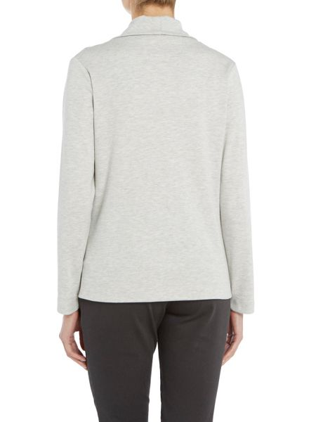 TIGI Cut and Sew Cowl Neck Top