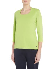 TIGI High Back Three Quarter Sleeve Top