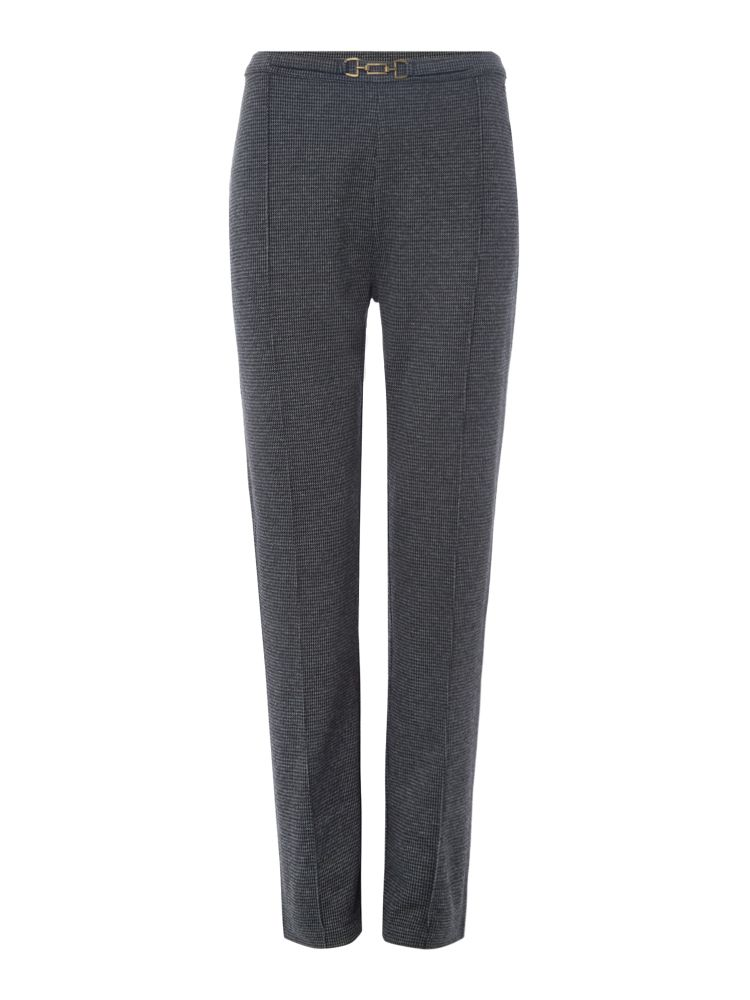 TIGI Buckled Trousers, Charcoal
