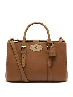 Small bayswater double zip tote bag