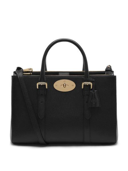 Mulberry Small bayswater double zip tote bag