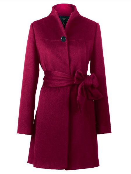 Yanny London Cape cashmere blend coat