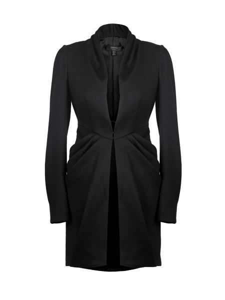 Yanny London Long pleated morning suit jacket