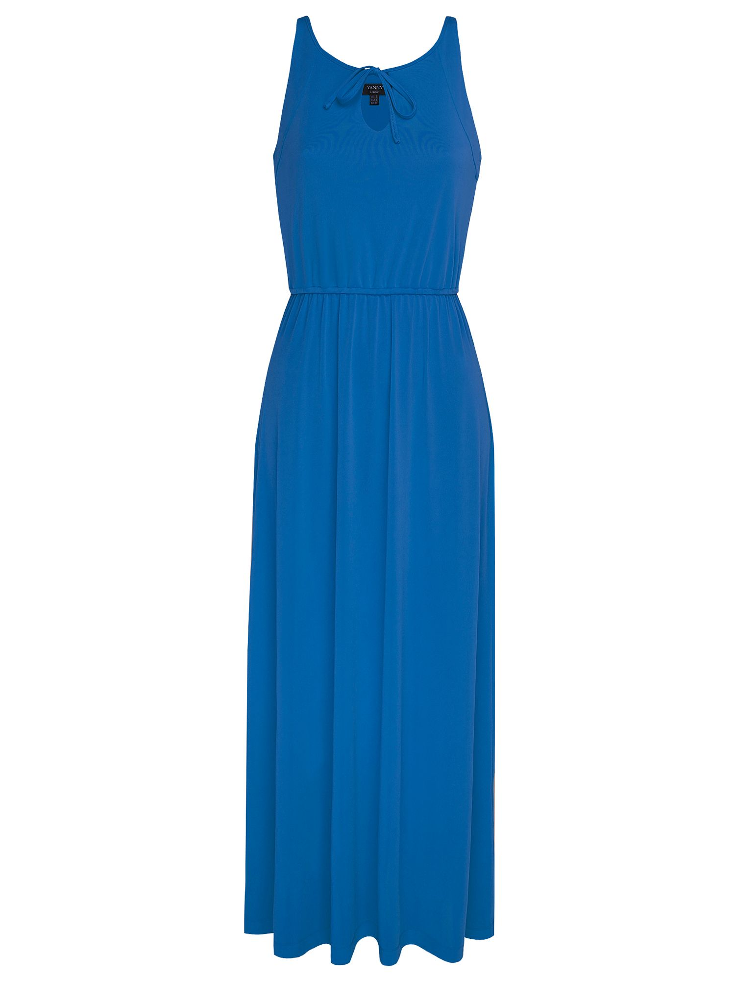 Reversible jersey maxi sleeveless dress