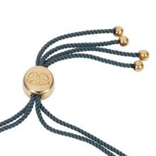 Caroline Creba 18ct gold plated titania friendship bracelet