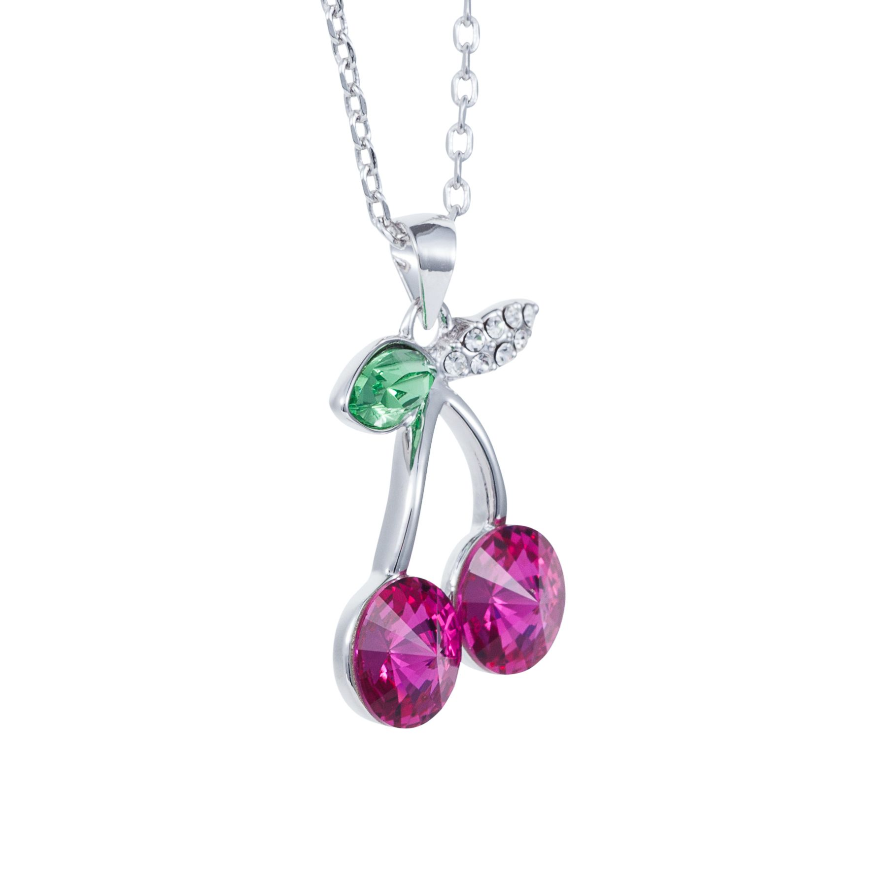 Hanging cherry pendant