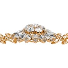 Aurora Flash Yellow gold flower bracelet