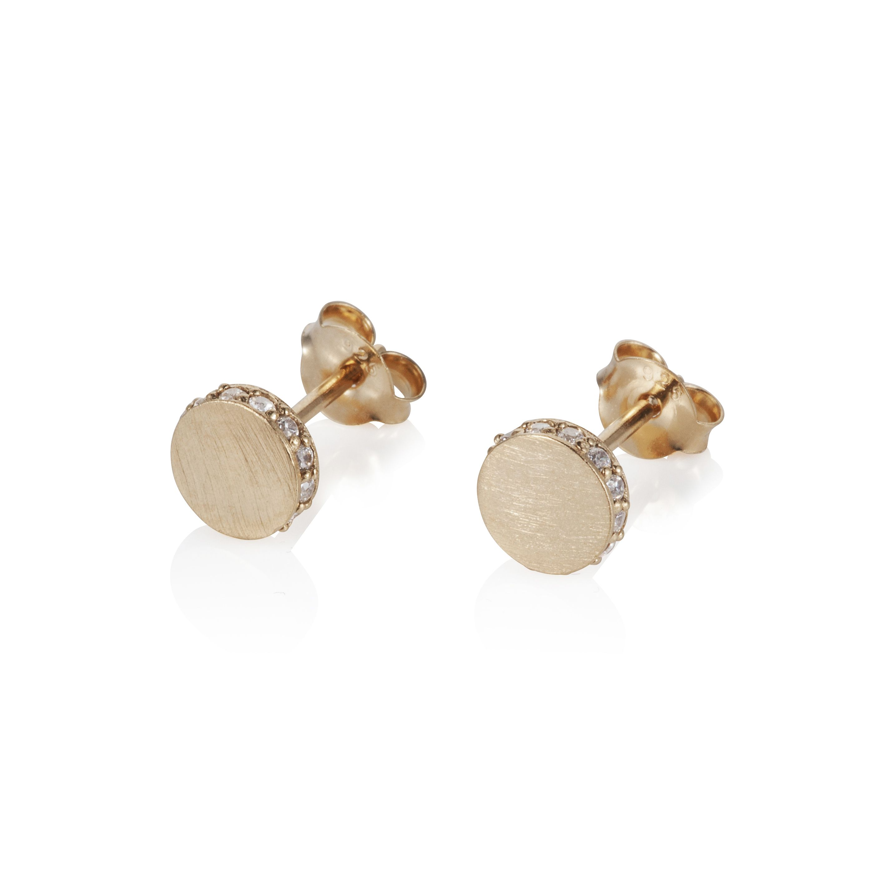 18ct gold plated sterling silver earrings