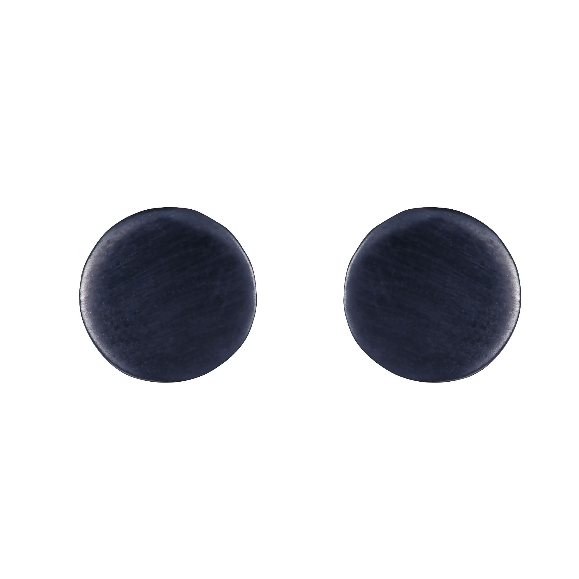 Sterling silver black rhodium plated earrings