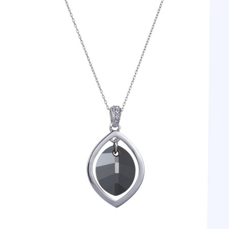 Aurora Pure leaf necklace