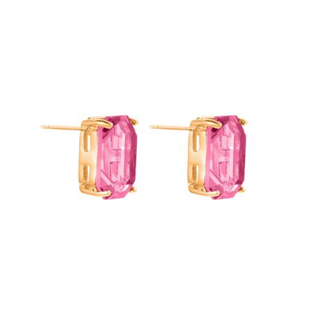Aurora Baguette stud earrings