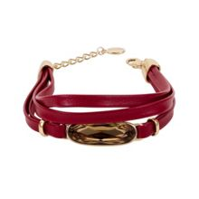 Aurora Leather bracelet
