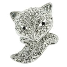 Crystal animal ring