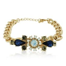 Aurora Flash Gold crystal bracelet