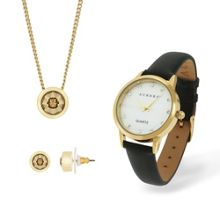 Aurora Watch Pendant and Earrings Set
