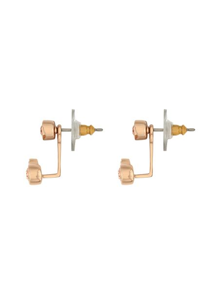 Aurora Rose gold plated crystal ear jackets