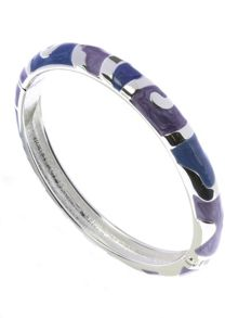 Indulgence Jewellery Lilac and blue round bangle