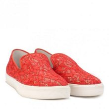 ILLUSION flower lace trainers