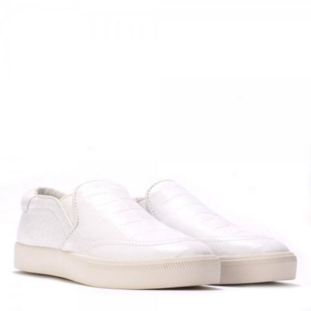 Ash IMPULS luxe croc leather trainers