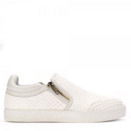 Ash INTENSE python leather trainers
