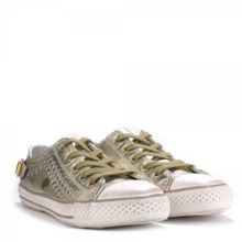 VIRGO classic leather lace up trainers