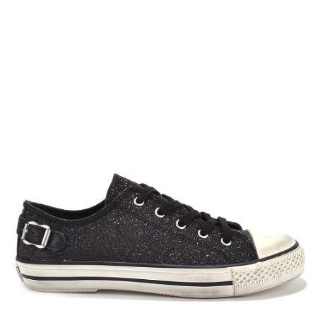 Ash VIRGO TER glitter lace up trainers