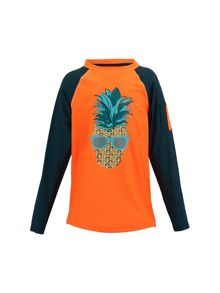 Sunuva Boys Punk Pineapple Rash Vest