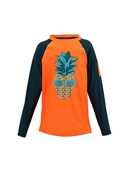 Boys UPF 50+ Punk Pineapple Rash Vest